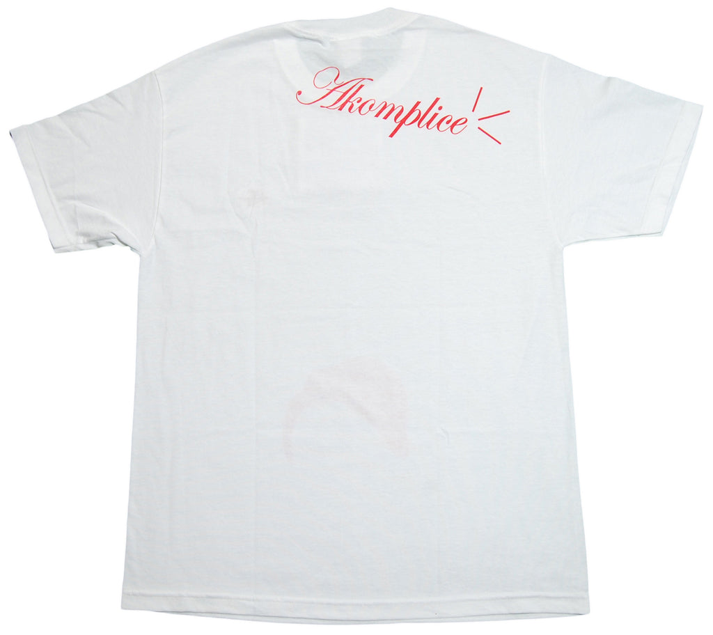<!--2013021906-->Akomplice - 'Crack' [(White) T-Shirt]