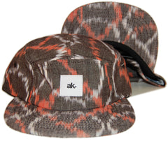 <!--020130604057074-->Akomplice - 'Granite' [(Dark Brown) Five Panel Camper Hat]