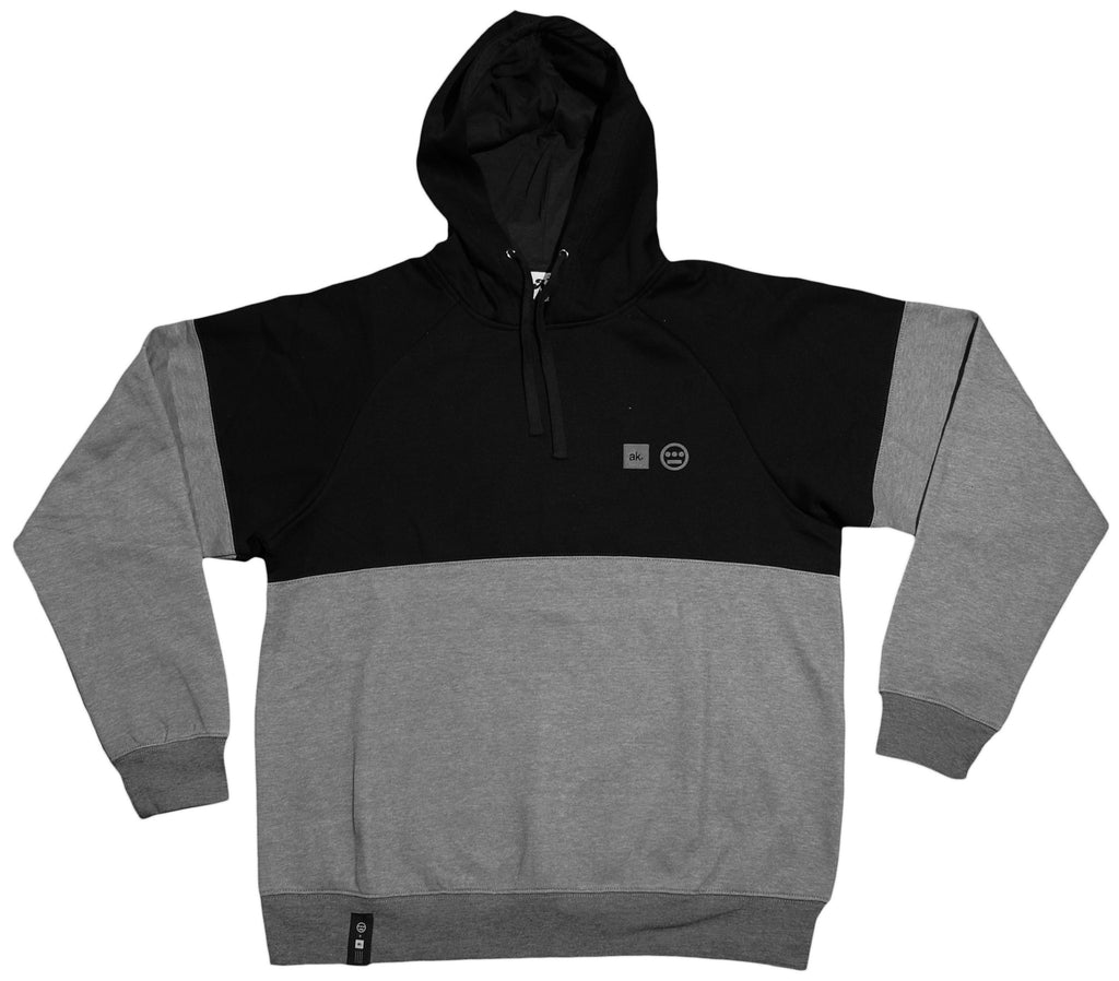 <!--2013021926-->Akomplice x Hieroglyphics - 'Hiero x AK - Gray' [(Black) Hooded Sweatshirt]