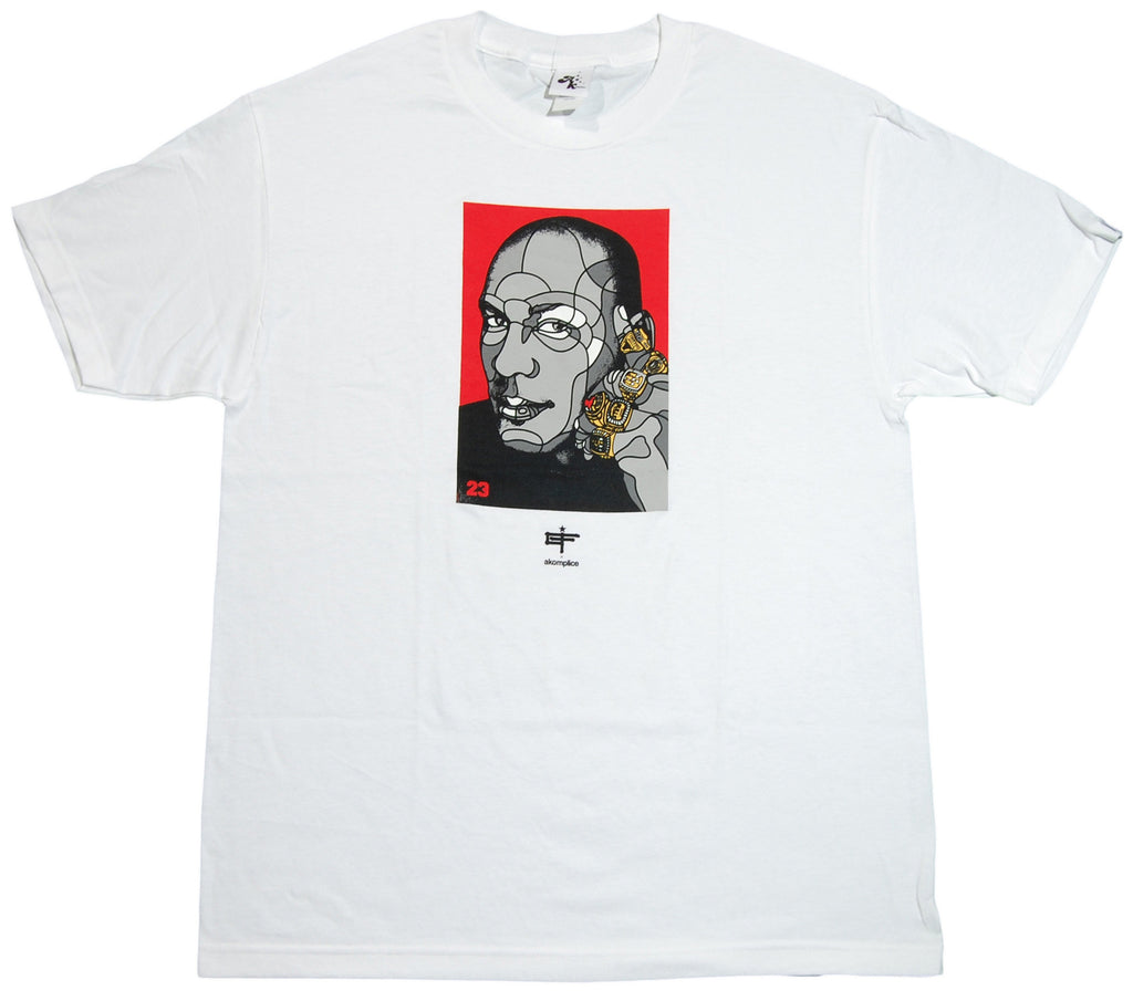 <!--2013021936-->Akomplice x David Flores - 'J '63' [(White) T-Shirt]