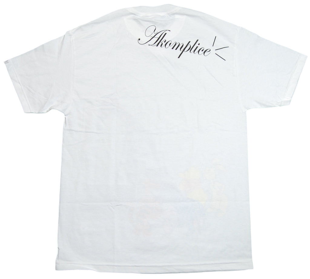 <!--2013021920-->Akomplice - 'Oiled' [(White) T-Shirt]
