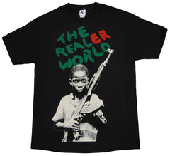 <!--2013021906-->Akomplice - 'The Realer World' [(Black) T-Shirt]