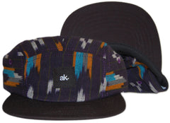 <!--020130219054210-->Akomplice - 'Navy Shapes' [(Dark Blue) Five Panel Camper Hat]