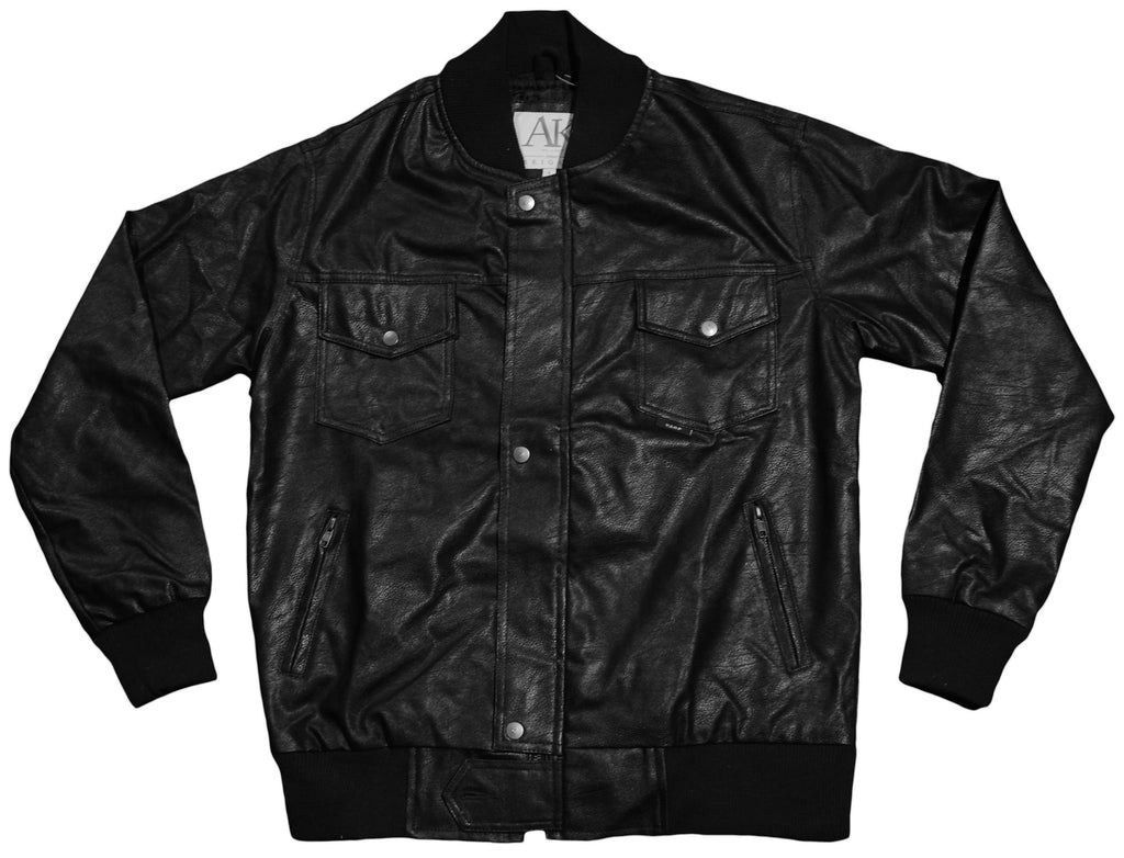 <!--2013021912-->Akomplice - 'Synthetic Leather' [(Black) Jacket]