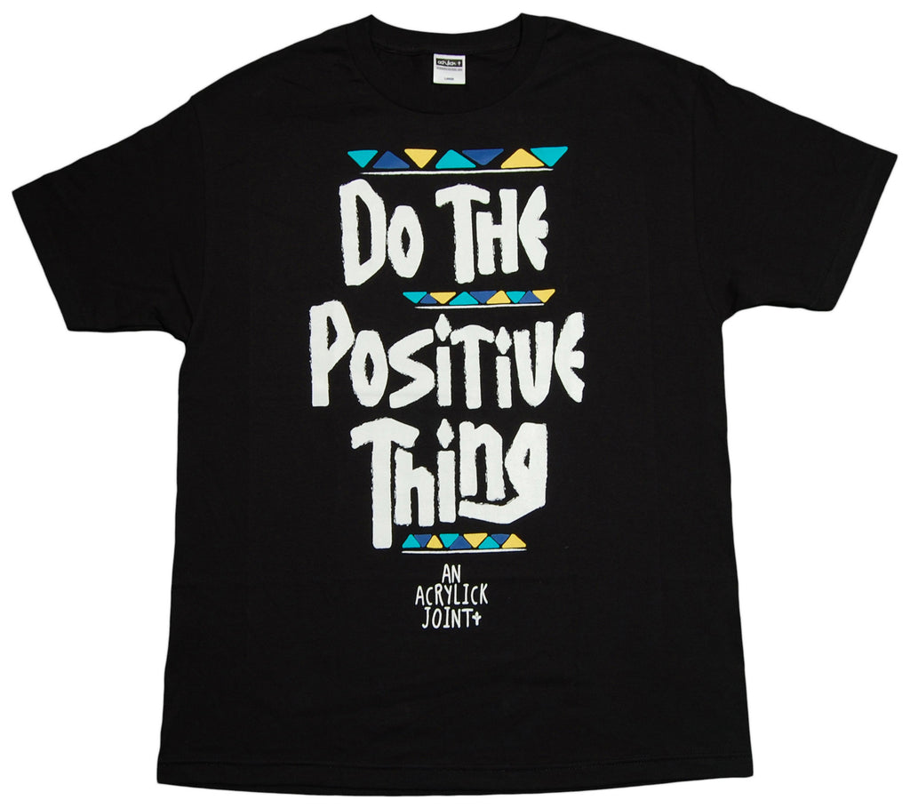 <!--2012121835-->Acrylick - 'Positive Thing v.2' [(Black) T-Shirt]