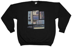 <!--2012030627-->Acrylick - 'Music Makers' [(Black) Crewneck Sweatshirt]