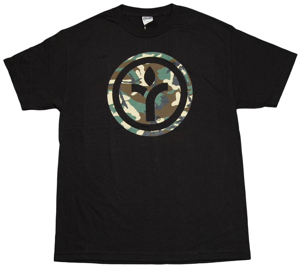<!--2012071004-->Acrylick - 'Camo Icon' [(Black) T-Shirt]