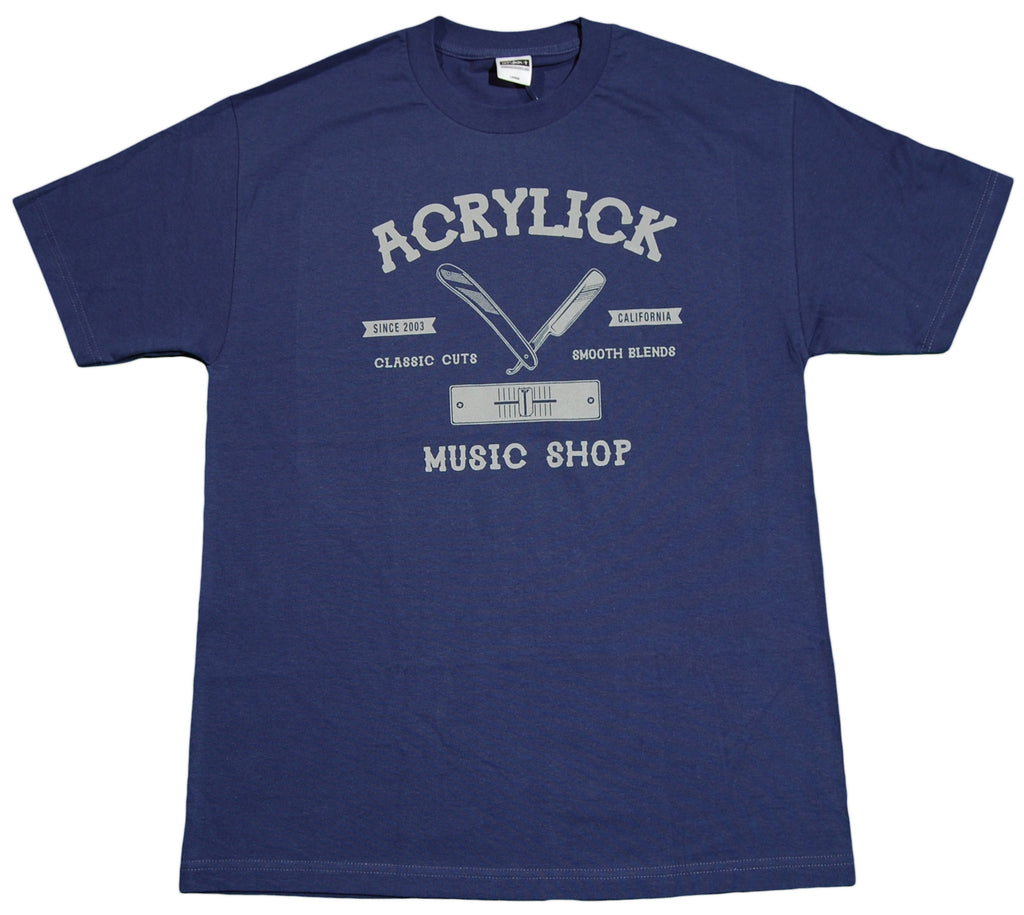 <!--2012071022-->Acrylick - 'Classic Cuts' [(Dark Blue) T-Shirt]