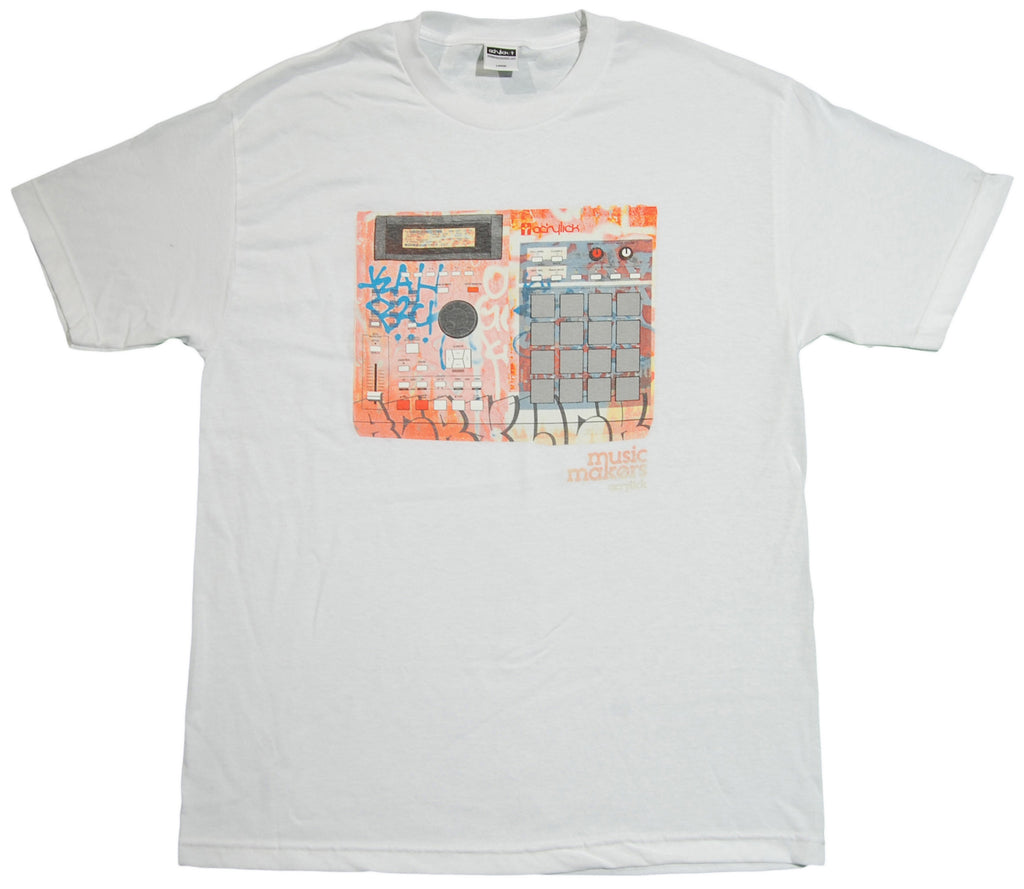 <!--2013060433-->Acrylick - 'MPC Subway' [(White) T-Shirt]