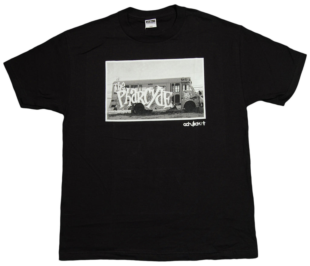 <!--2012121834-->Acrylick x The Pharcyde - 'Bus Pass' [(Black) T-Shirt]