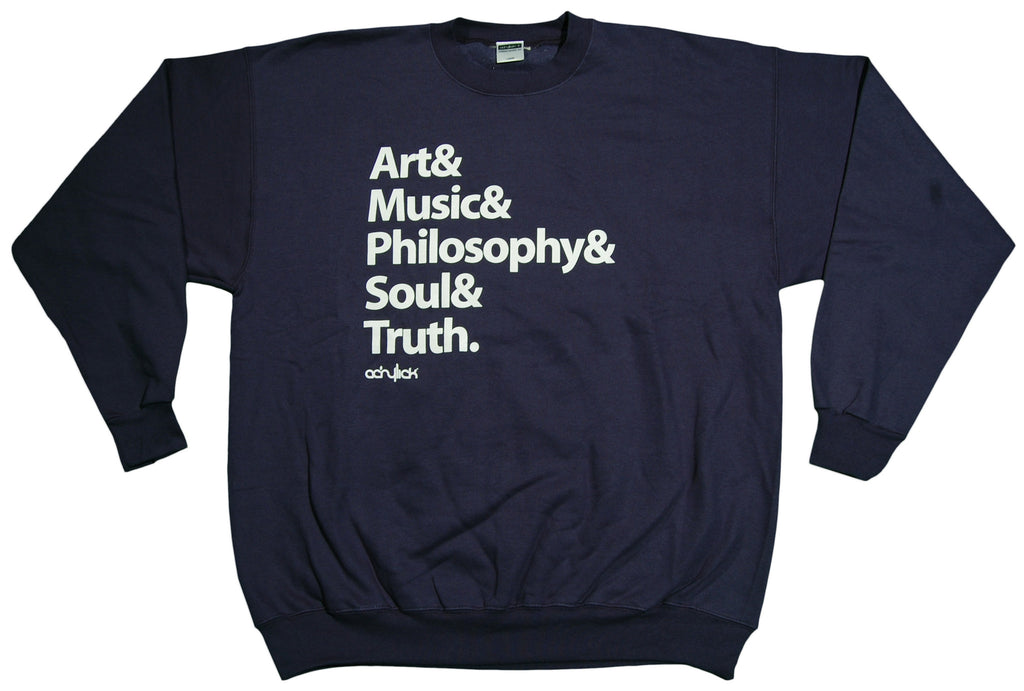 <!--2012121849-->Acrylick - 'Roll Call' [(Dark Blue) Crewneck Sweatshirt]