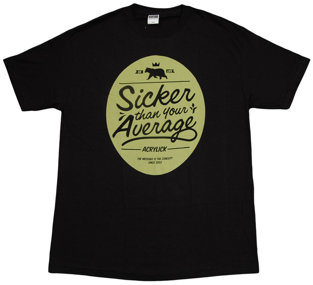 <!--2012111348-->Acrylick - 'Sicker Than' [(Black) T-Shirt]
