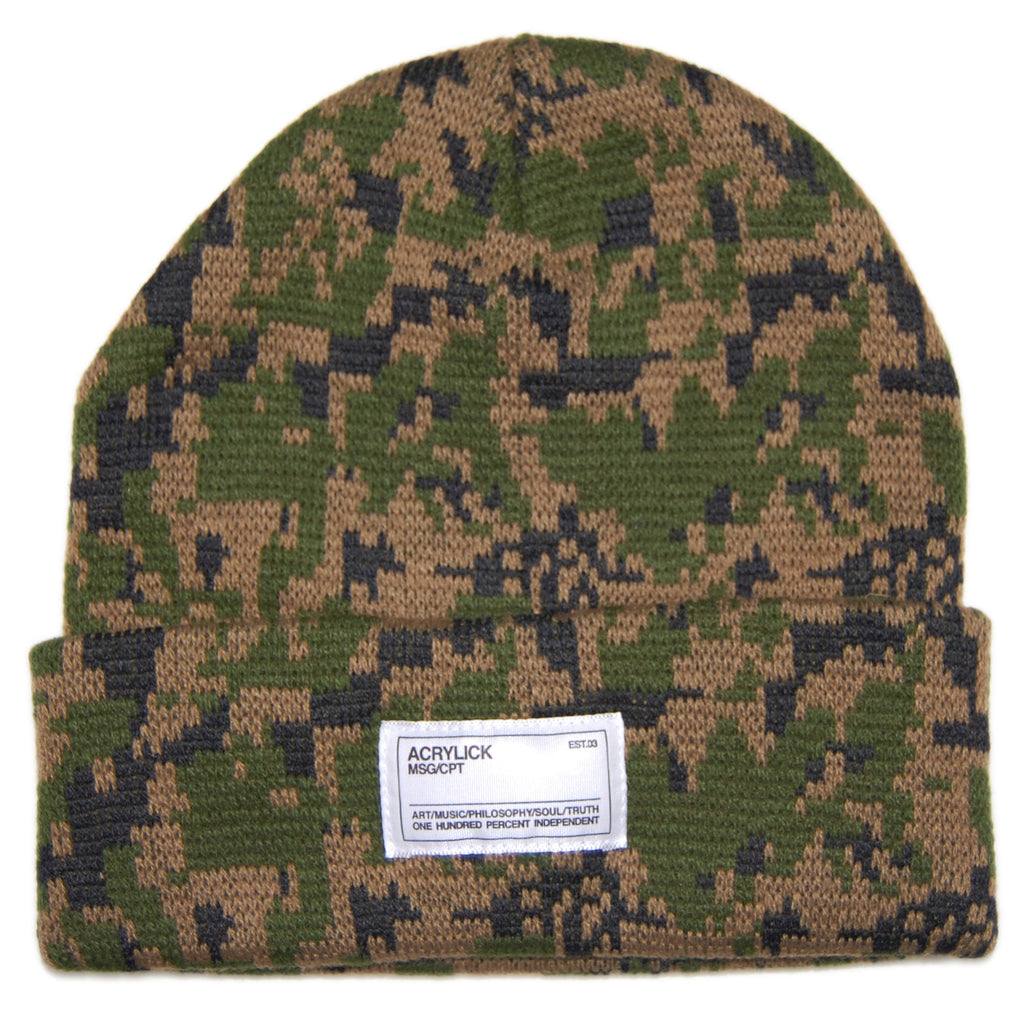 <!--2012121818-->Acrylick - 'Trooper - Pixel' [(Camo Pattern) Winter Beanie Hat]