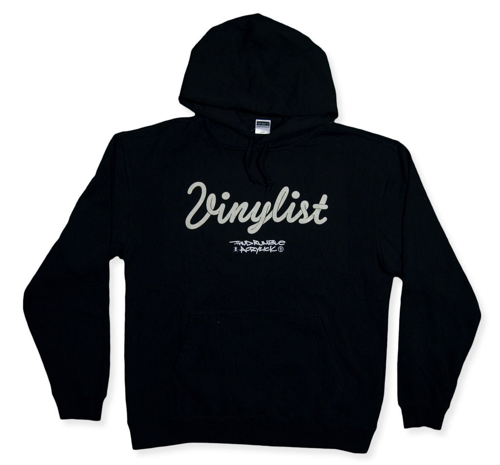 <!--2013112605-->Acrylick x Thud Rumble Records - 'Vinylist' [(Black) Hooded Sweatshirt]