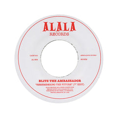"Blitz The Ambassador - 'Breathe/ Remembering The Future (Edit)' [(Black) 7"" Vinyl Single]"