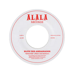 "<!--2010080348-->Blitz The Ambassador - 'Breathe/ Remembering The Future (Edit)' [(Black) 7"" Vinyl Single]"