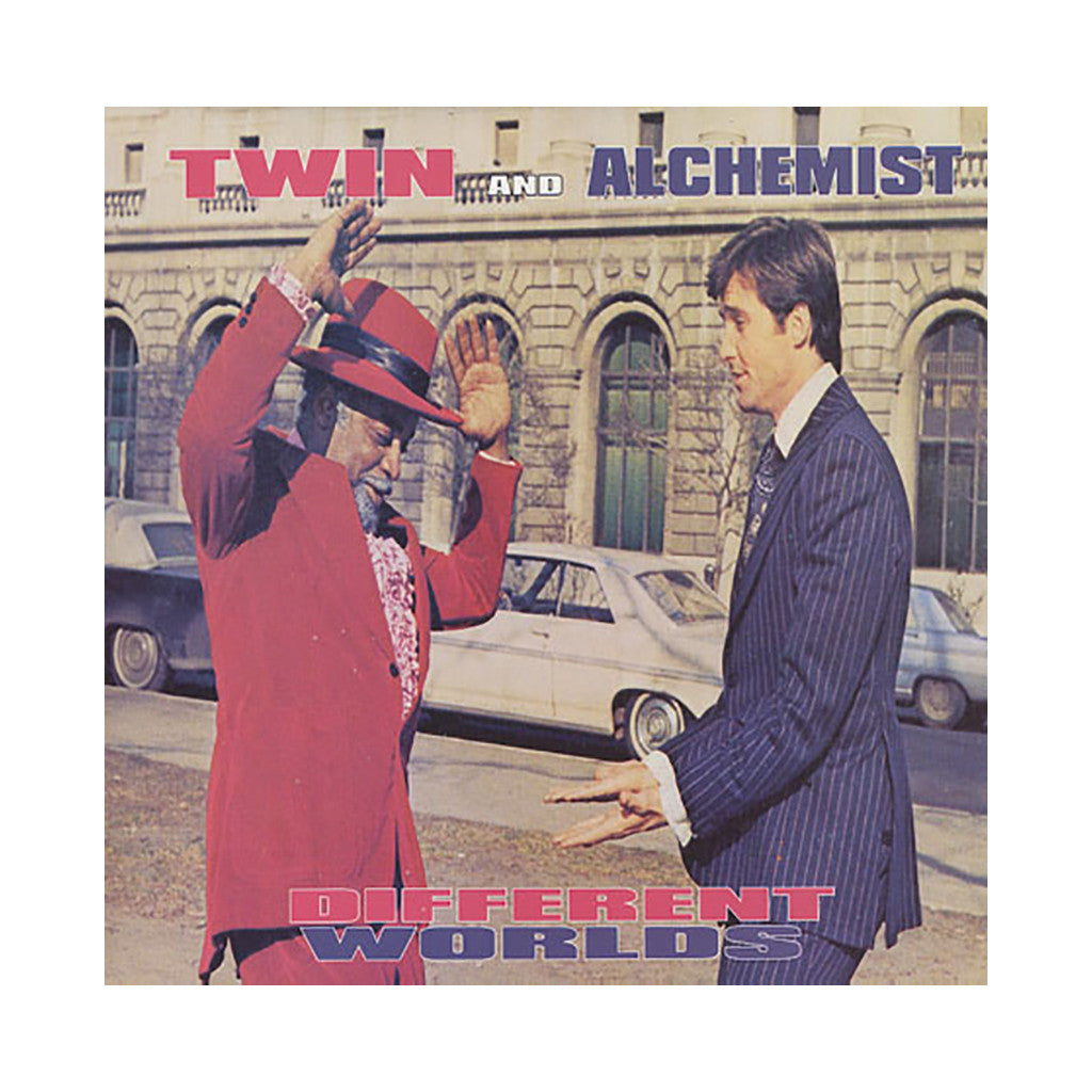 "<!--020020212011440-->Twin Gambino & Alchemist - 'Different Worlds/ B.I.G. T.W.I.N.S.' [(Black) 12"""" Vinyl Single]"