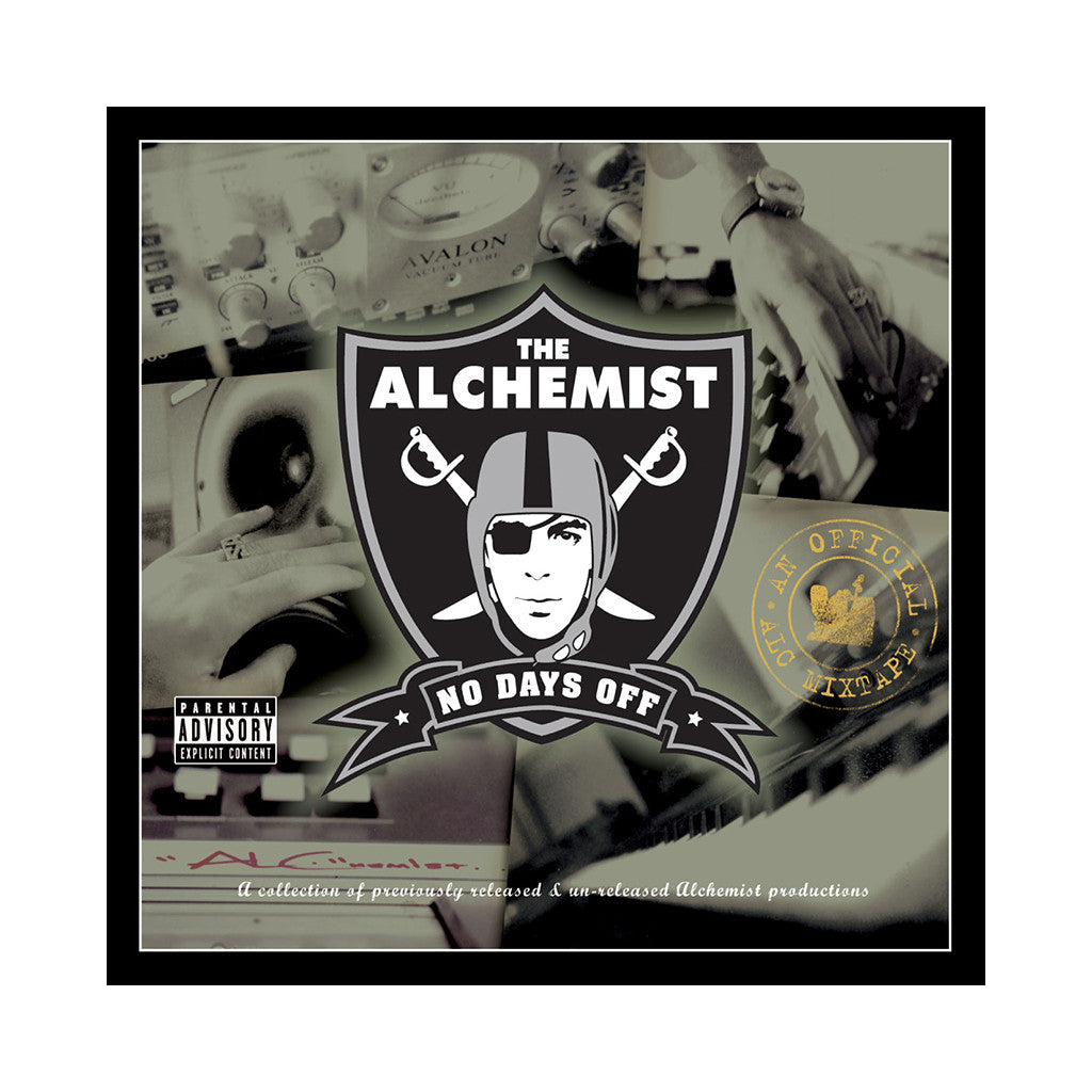 The Alchemist - 'No Days Off' [CD]
