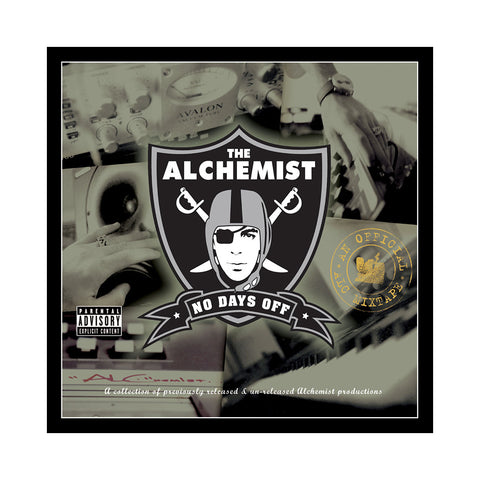 Alchemist - 'No Days Off' [CD]