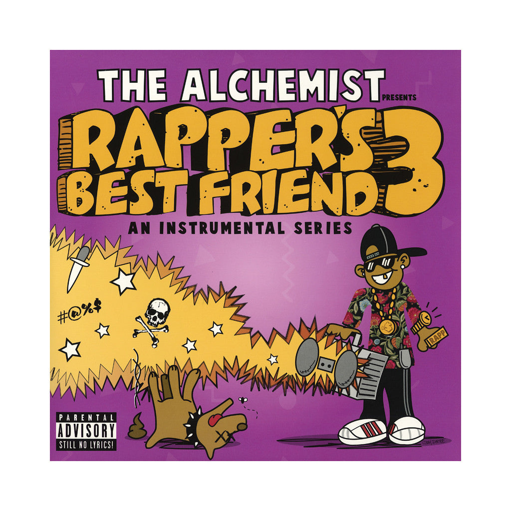 The Alchemist - 'Rapper's Best Friend 3' [CD]
