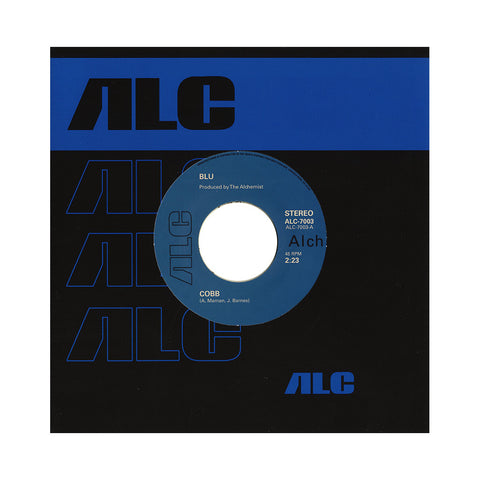 "Blu - 'Cobb/ Palisades' [(Black) 7"" Vinyl Single]"