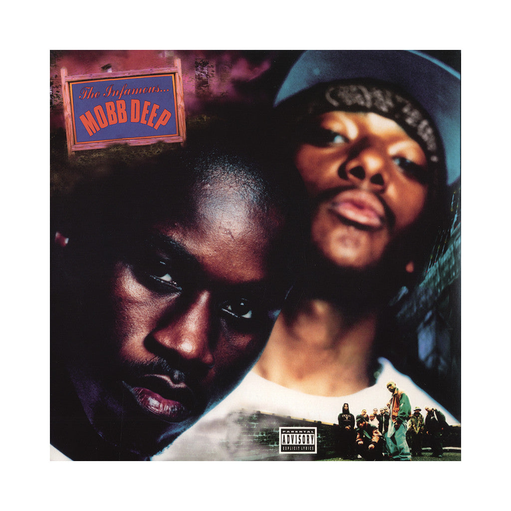 Mobb Deep - 'The Infamous... (20th Anniversary Edition) (Import)' [(Clear Blue + Clear Orange) Vinyl [2LP]]