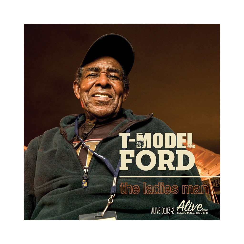 <!--120100112000656-->T-Model Ford - 'The Ladies Man' [CD]
