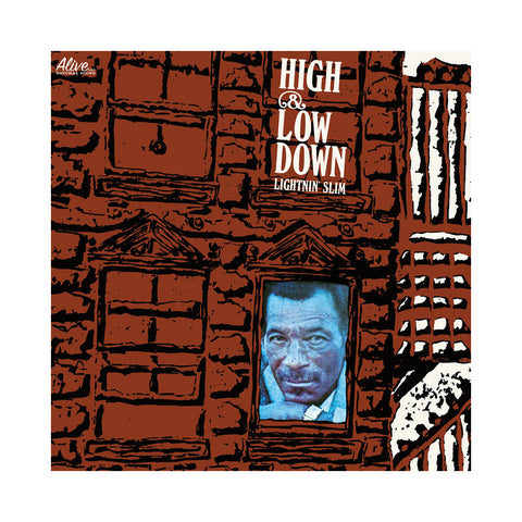 "[""Lightnin' Slim - 'High & Low Down' [(Black) Vinyl LP]""]"