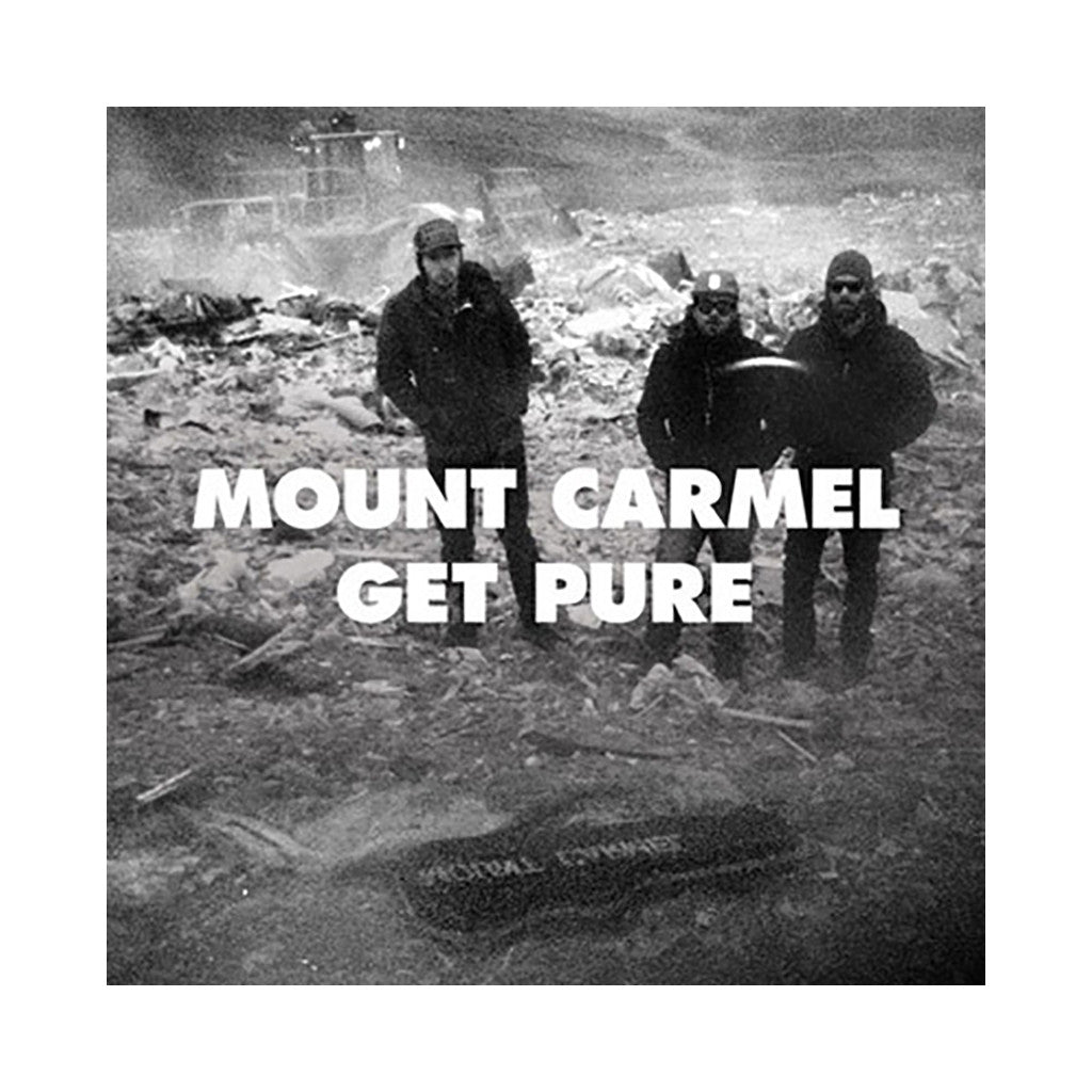 <!--120140408062461-->Mount Carmel - 'Get Pure' [(Clear) Vinyl LP]