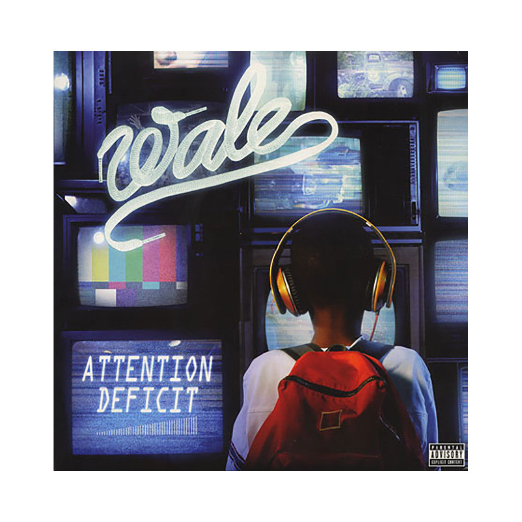 Wale - 'Attention Deficit' [(Black) Vinyl [2LP]]