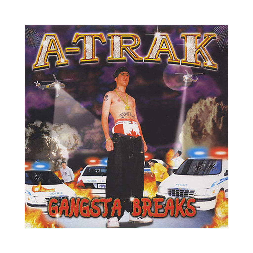 A-Trak - 'Gangsta Breaks' [(Black) Vinyl LP]