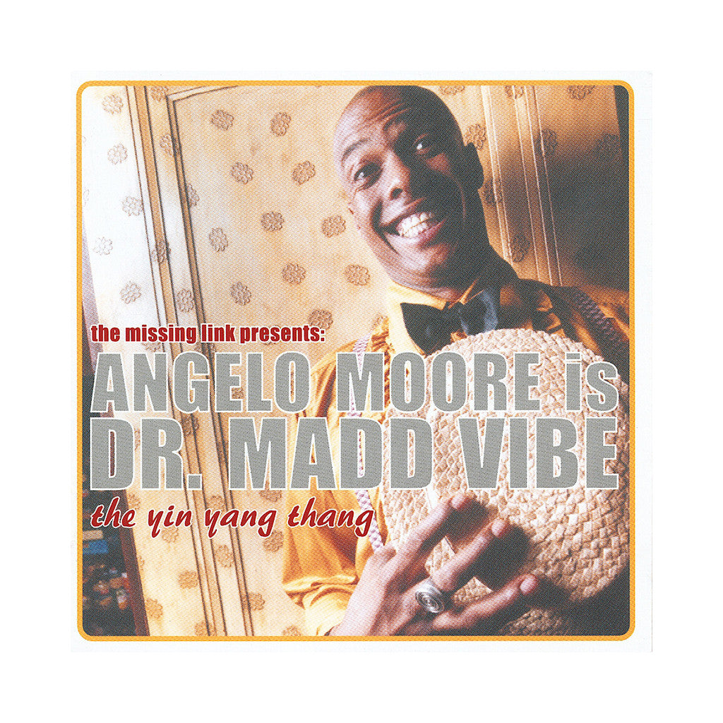 <!--020001113004742-->Angelo Moore Is Dr. Madd Vibe - 'The Yin Yang Thang' [CD]
