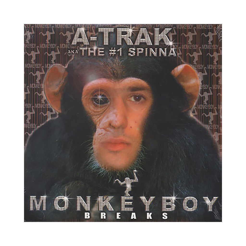 <!--020040427013066-->A-Trak - 'Monkey Boy Breaks' [(Black) Vinyl LP]