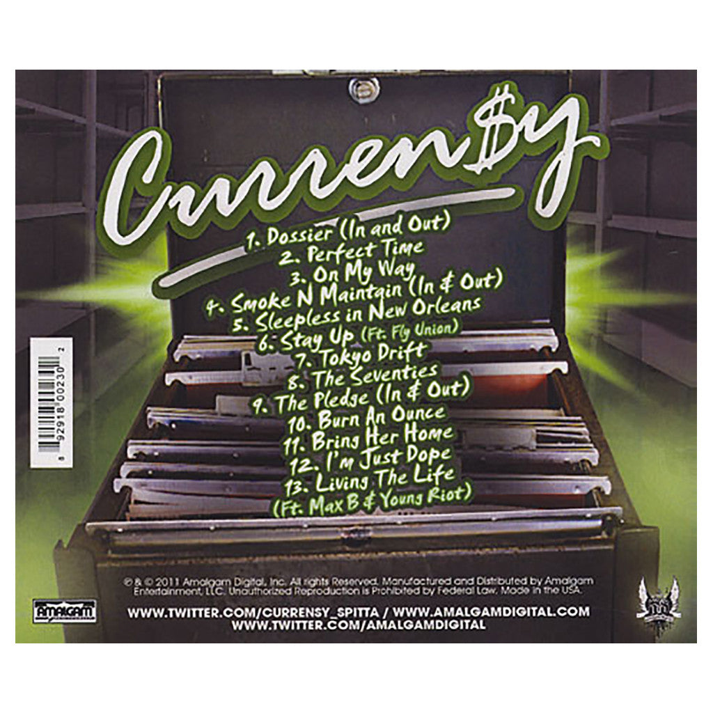 Curren$y - 'Jet Files' [CD]