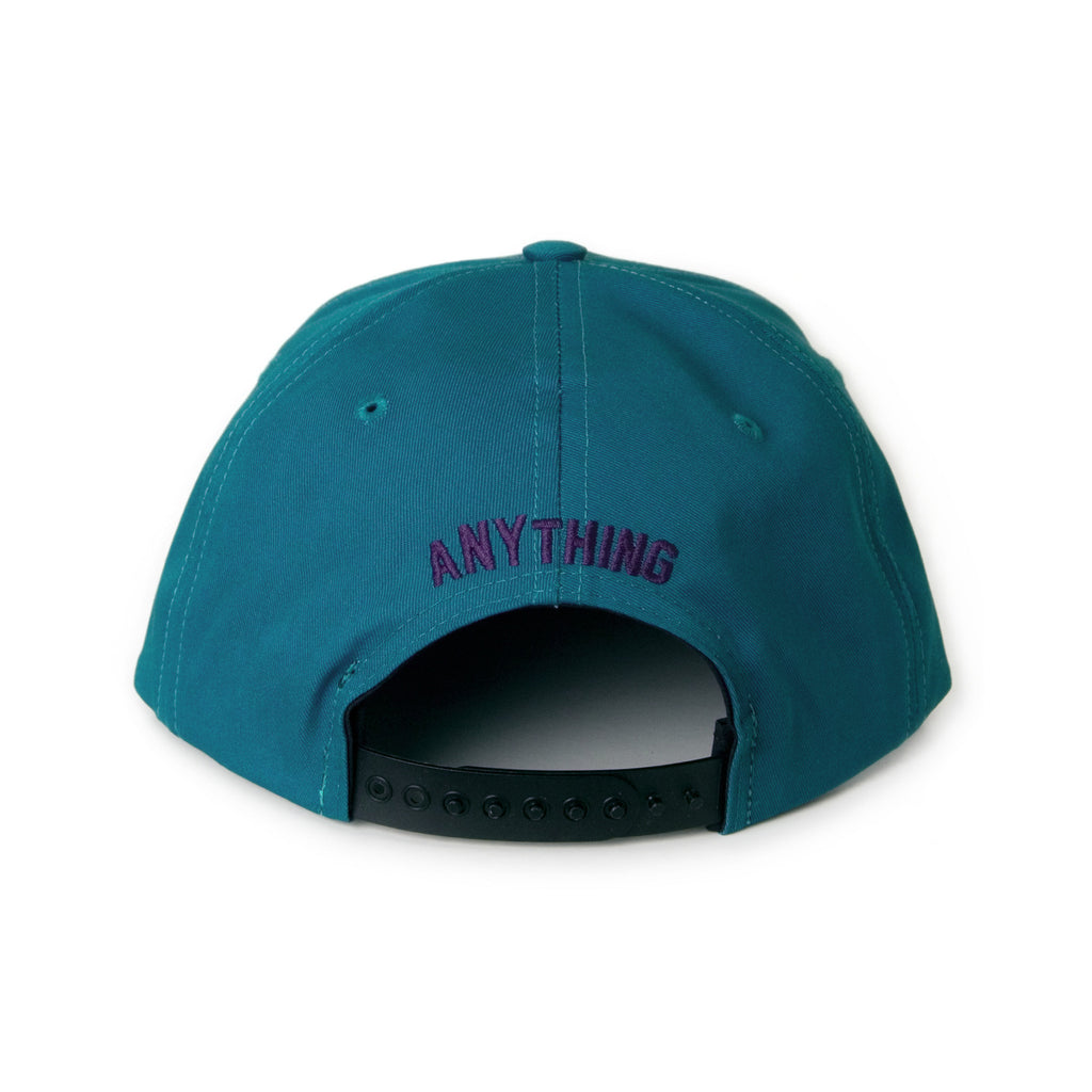 <!--020131205061629-->aNYthing - 'A Star - Teal' [(Light Green) Snap Back Hat]