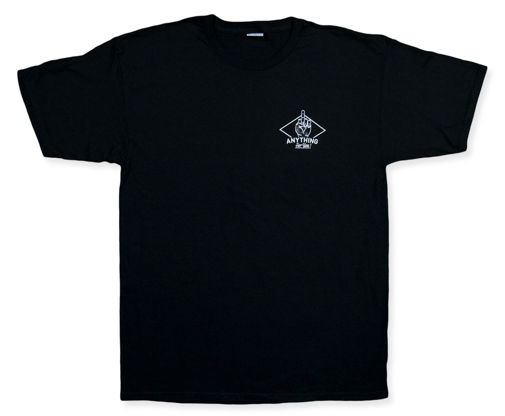 <!--2013120556-->aNYthing - 'People Person' [(Black) T-Shirt]