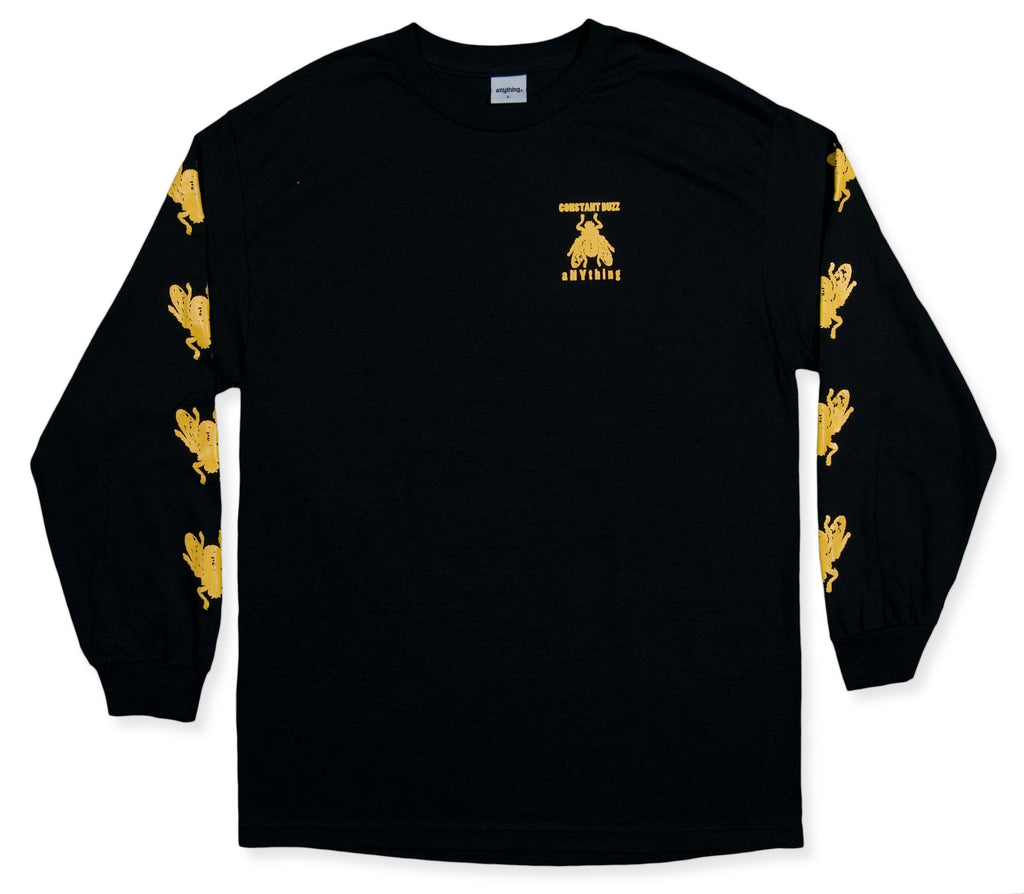 <!--2013120520-->aNYthing - 'Constant Buzz' [(Black) Long Sleeve Shirt]