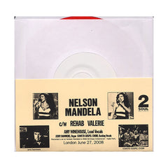 "Amy Winehouse - 'Nelson Mandela (Live)/ Rehab (Live)/ Valerie (Live)' [(White) 7"" Vinyl Single]"