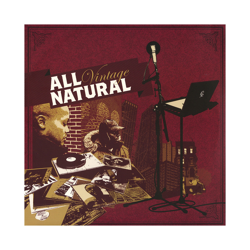 All Natural - 'Vintage' [CD]