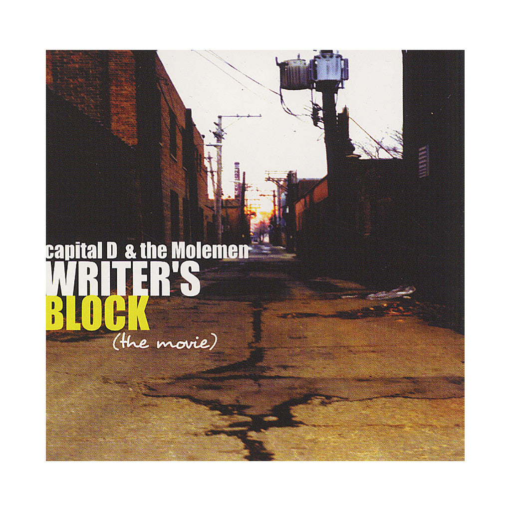 <!--020020820004275-->capital D & The Molemen - 'Writer's Block (The Movie)' [CD]