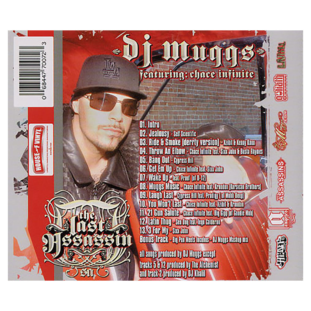 <!--020040706017591-->DJ Muggs - 'The Last Assassin' [CD]