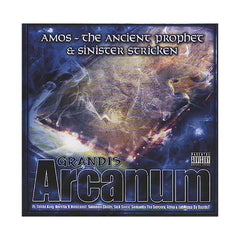 Amos The Ancient Prophet & Sinister Stricken - 'Grandis Arcanum' [CD]