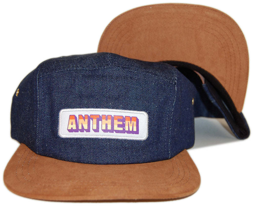 <!--020130806058780-->ANTHEM - 'Moonshake' [(Dark Blue) Five Panel Camper Hat]
