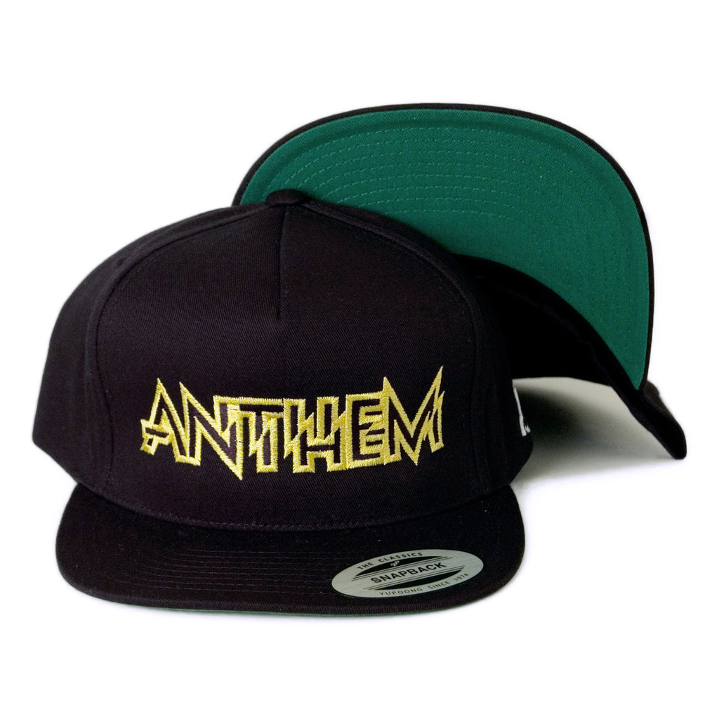 <!--020140408063222-->ANTHEM - 'Motor City' [(Black) Snap Back Hat]
