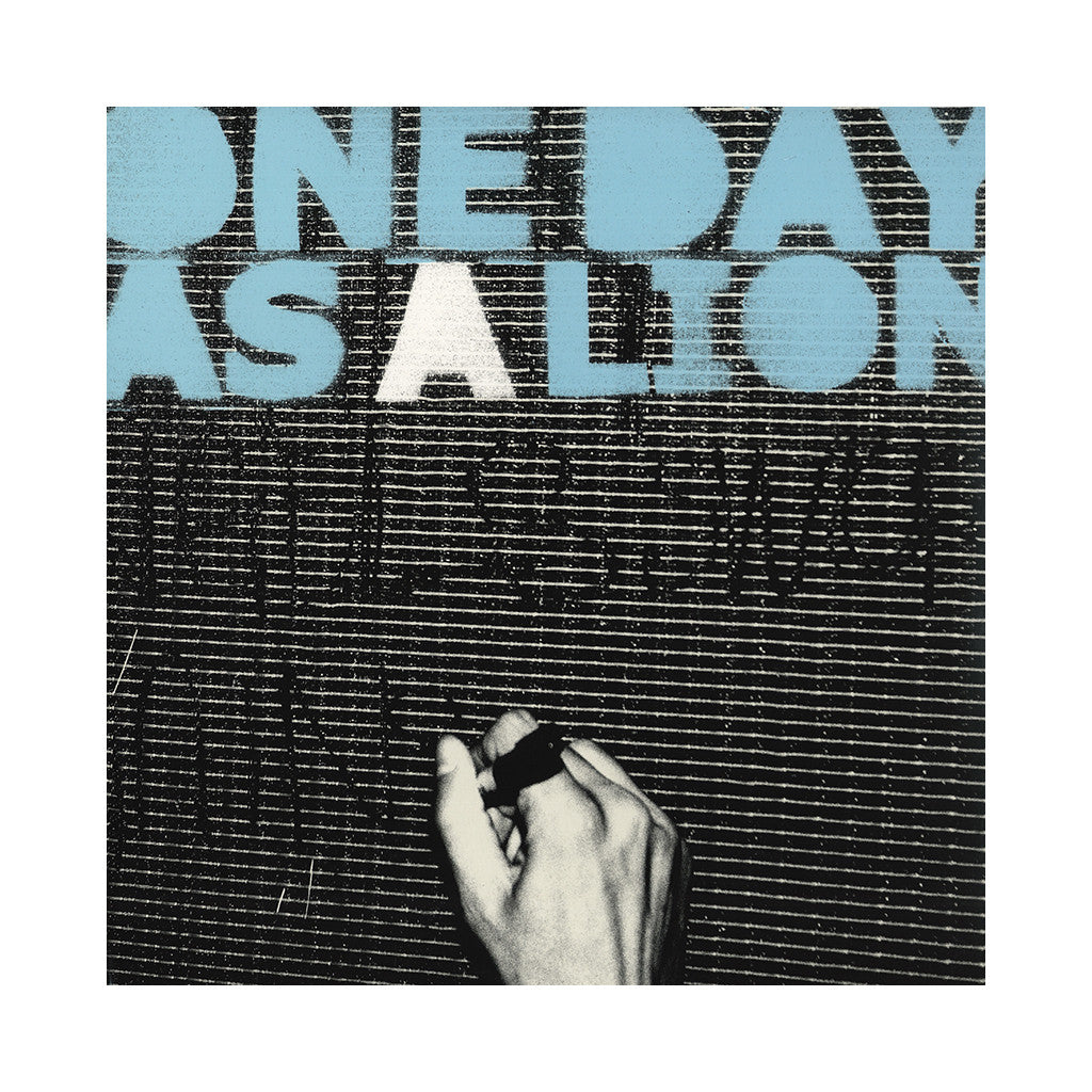 One Day As A Lion - 'One Day As A Lion' [CD]