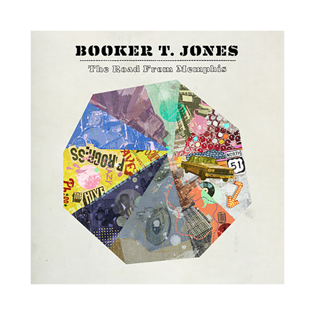 Booker T. Jones - 'The Road From Memphis' [(Black) Vinyl LP]