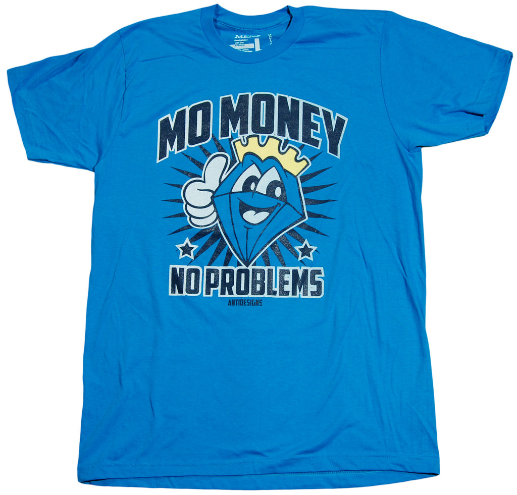 <!--2011083027-->Anti Designs - 'Mo Money' [(Blue) T-Shirt]