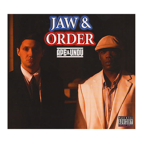 Ape & Undu - 'Jaw & Order' [CD]