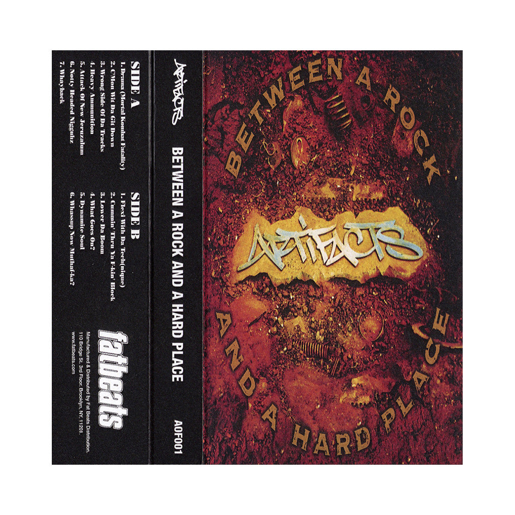 <!--020131203061249-->Artifacts - 'Between A Rock And A Hard Place' [Cassette Tape]
