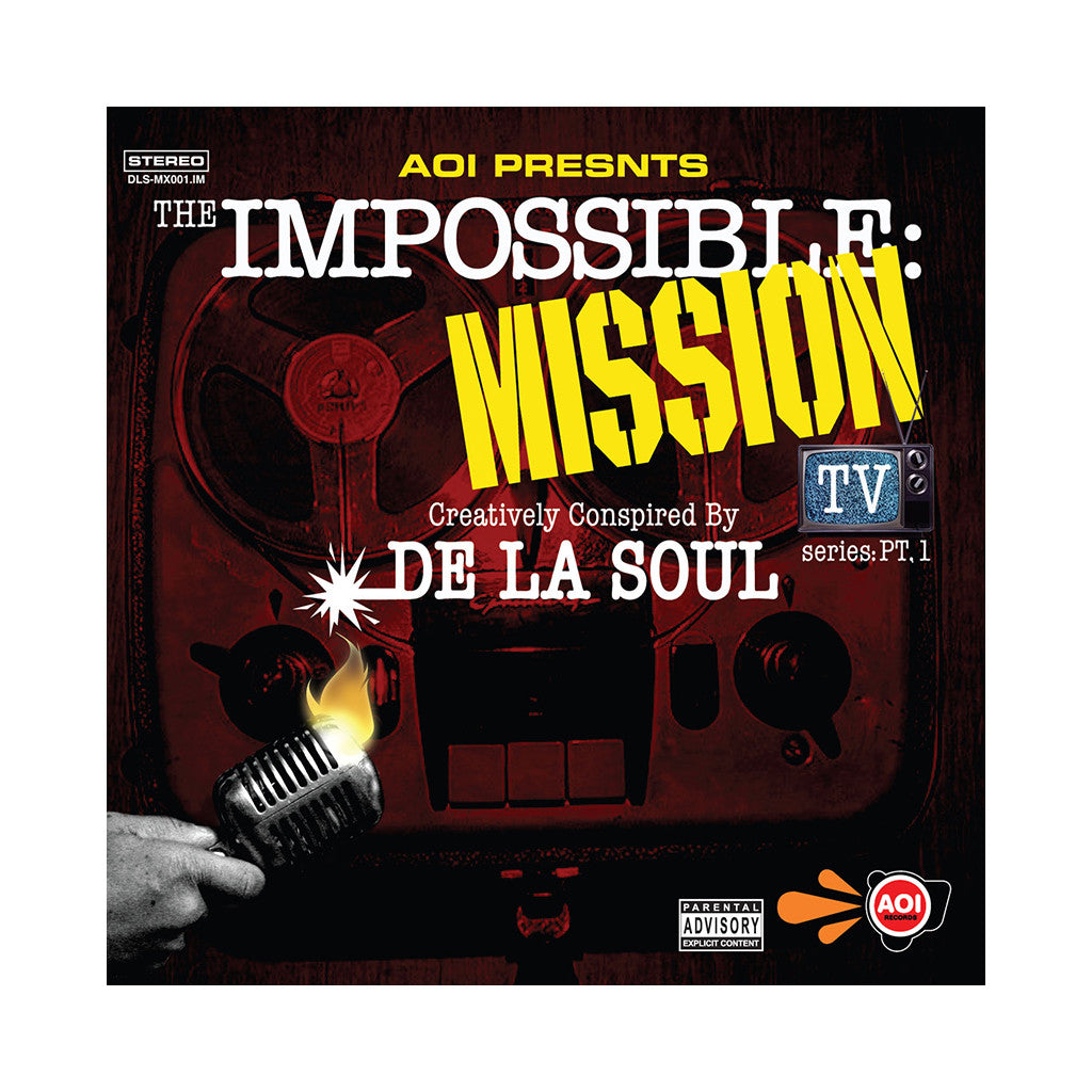 <!--020061024007844-->De La Soul - 'The Impossible Mission: TV Series Pt. 1' [CD]